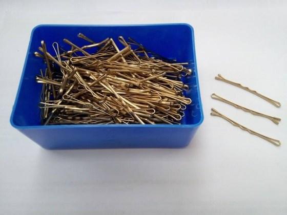 Τσιμπιδάκια Μαλλιών Ιταλίας  Νο5  250gr Χρυσό