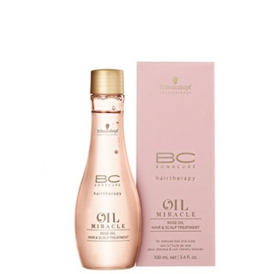 Schwarzkopf Bonacure Rose Oil Miracle Treatment 100ml