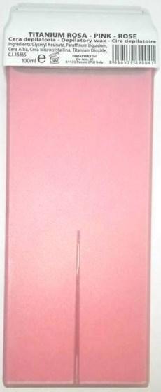 Κερί Αποτρίχωσης Ρολέτα Titanium Ροζ 100ml
