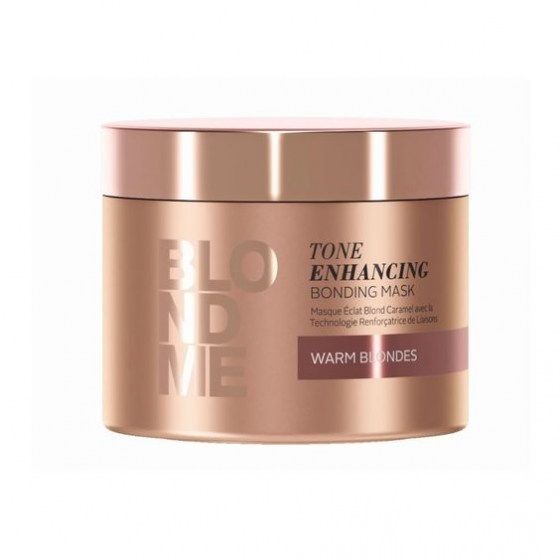 Schwarzkopf BlondMe Enhance Bond Mask Warm 250 ml