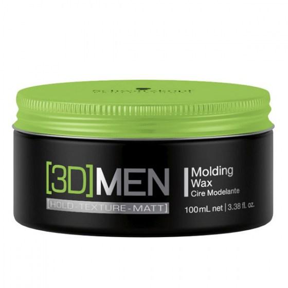 Schwarzkopf [3D]Men Molding Wax 100 ml