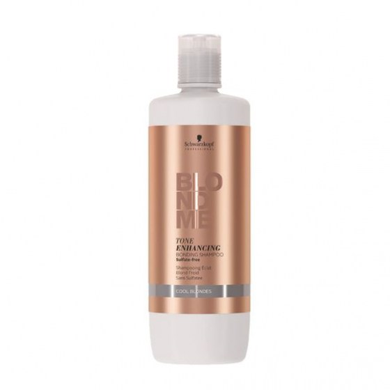 Schwarzkopf BlondMe Enhance Bond Shampoo Cool Blond 1000 ml