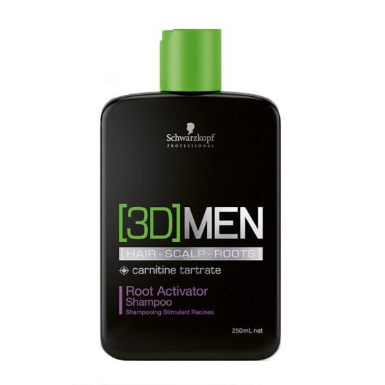 Schwarzkopf [3D]Men Root Activator Shampoo 250 ml