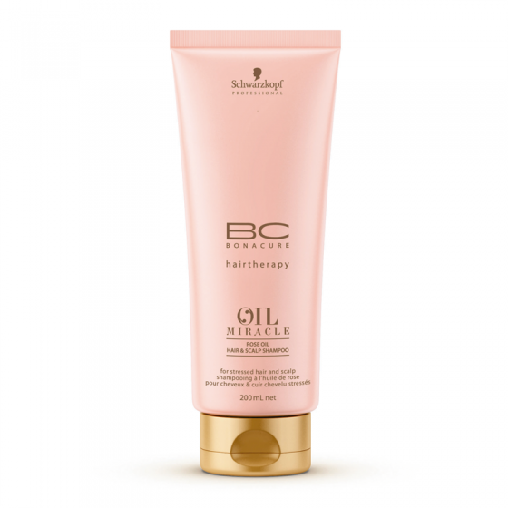 Schwarzkopf Bonacure Rose Oil Miracle Shampoo 200ml
