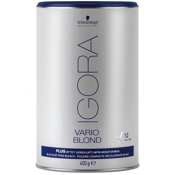 IGORA Vario Blond Plus Powder (Μπλε) 450gr